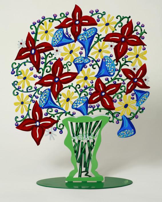 David Gerstein - Bell Flowers Vase 2