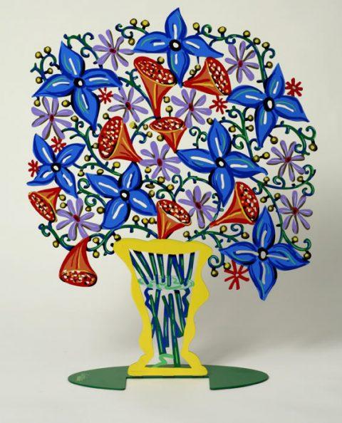 David Gerstein - Bell Flowers Vase