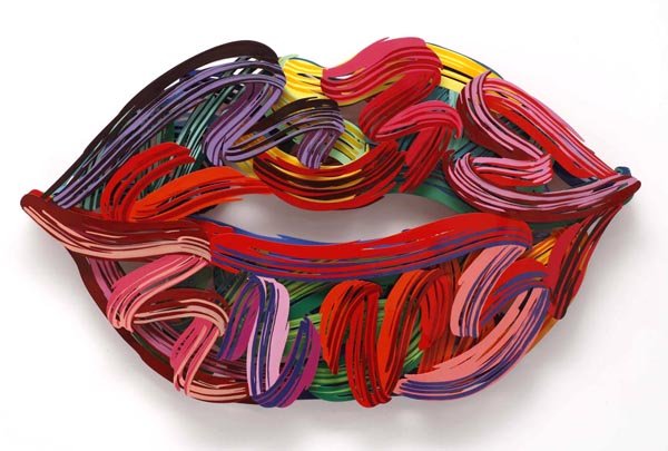 David Gerstein - Graffiti Lips