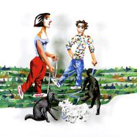 David Gerstein - DOG WALKERS