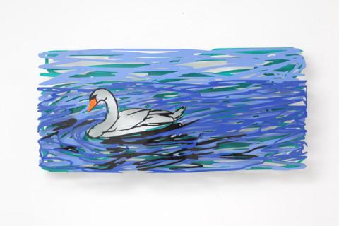 David Gerstein - SWIMMING SWAN