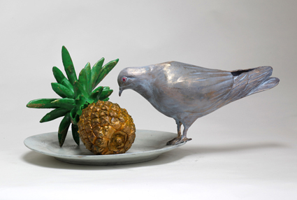 David Gerstein PIGEON TASTING PINEAPPLE