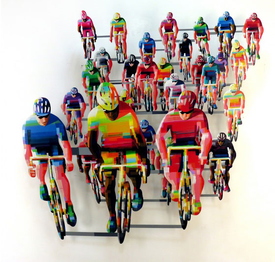 David Gerstein Tour De France Frontal